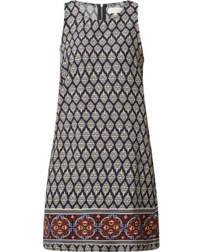 Niebieska sukienka mini z wiskozy bez rękawów Apricot