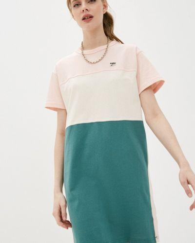 Зеленое платье Puma