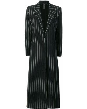 Длинное пальто классическое пальто Norma Kamali