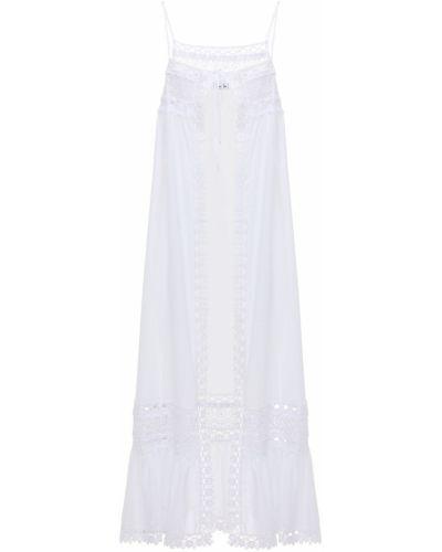 Хлопковое платье - белое Charo Ruiz