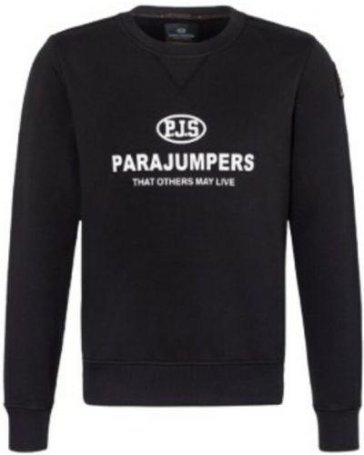 Czarna bluza dresowa Parajumpers
