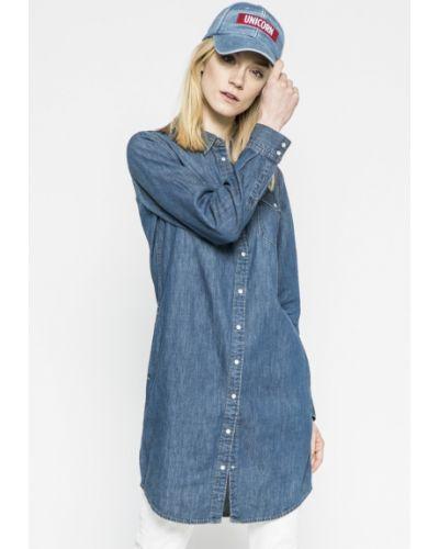 Платье мини с манжетами джинсовое Levi's®