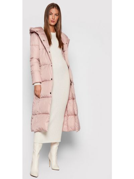 Różowa kurtka puchowa Liviana Conti