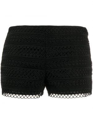 Ажурные черные короткие шорты Charo Ruiz Ibiza