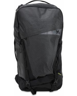 Czarny plecak z siateczką z paskiem Millet