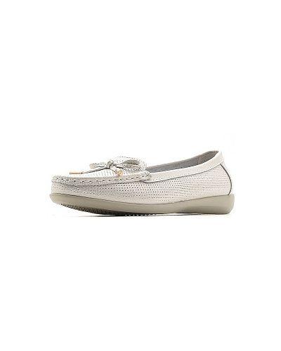 Мокасины - белые Zenden Comfort