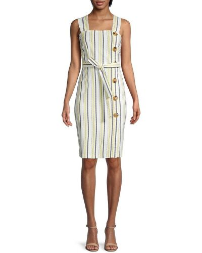 Купальное платье с поясом свободного кроя в полоску Tommy Hilfiger