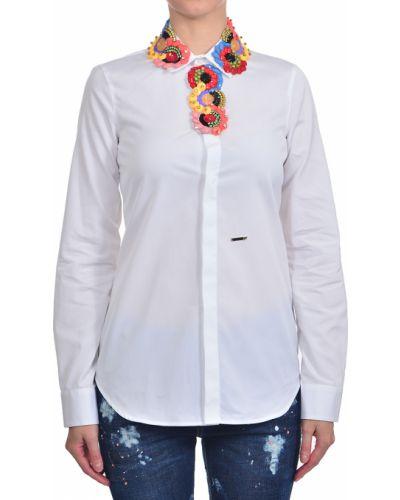 Рубашка белая Dsquared2