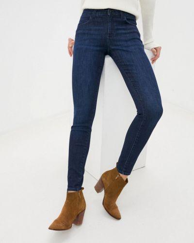 Синие джинсы-скинни узкого кроя Wrangler