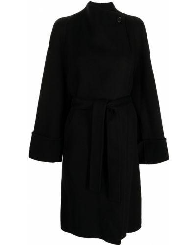 Черное нейлоновое пальто Low Classic