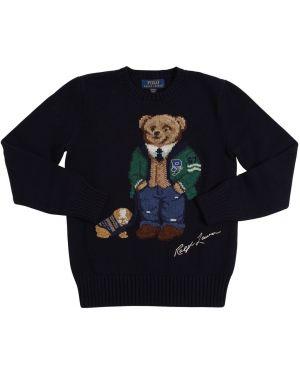 Sweter z kołnierzem na szyi Ralph Lauren