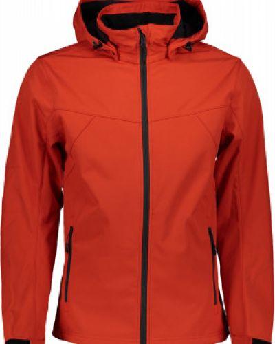 Красная куртка на молнии софтшелл Icepeak