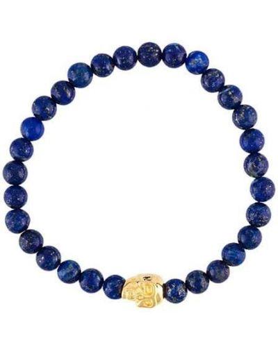 Браслет из серебра позолоченный Nialaya Jewelry