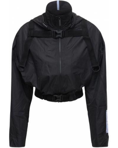 Куртка на молнии - черная Mcq