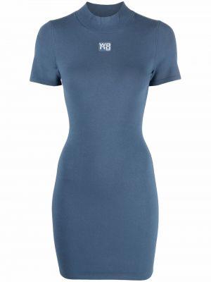 Sukienka mini - niebieska Alexander Wang