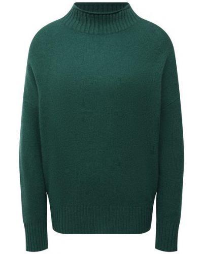 Кашемировый свитер - зеленый Allude