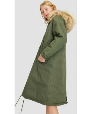 Пальто с капюшоном пальто Stradivarius