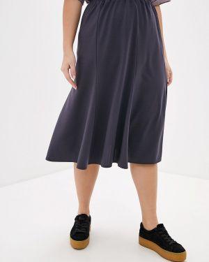 Платье серое осеннее Darissa Fashion