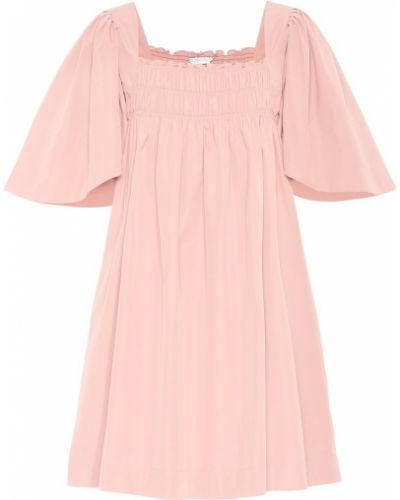 Летнее платье розовое из поплина Three Graces London