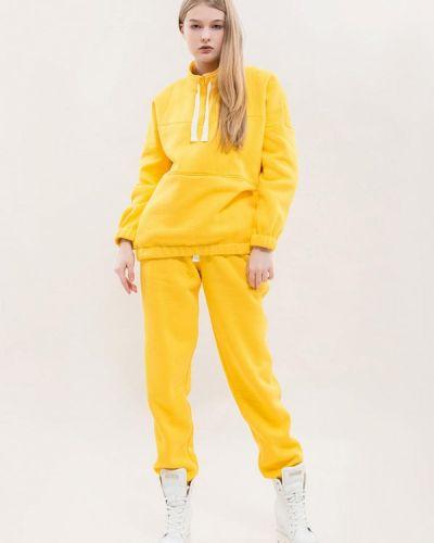 Костюмный желтый спортивный костюм Maxa