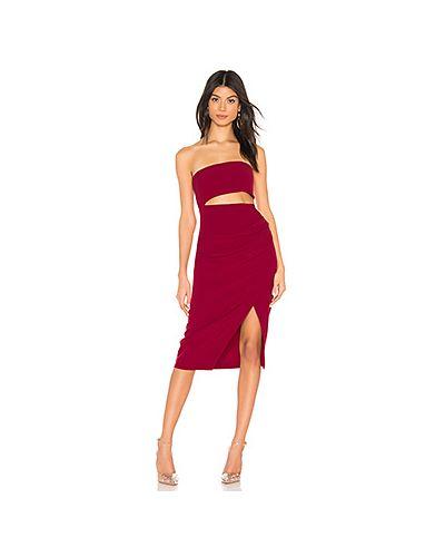Платье мини с поясом на молнии Nbd