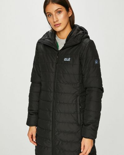 Куртка с капюшоном стеганая с карманами Jack Wolfskin