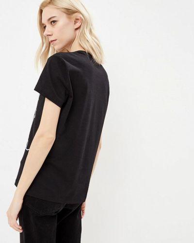 Черная футболка 2019 Just Cavalli