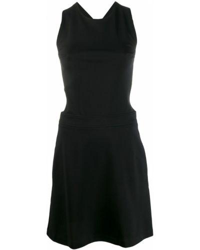 Платье с открытой спиной с вырезом Love Moschino