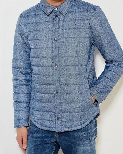 Синяя утепленная куртка Sela
