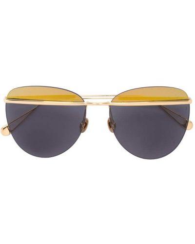 Черные солнцезащитные очки металлические Sunday Somewhere