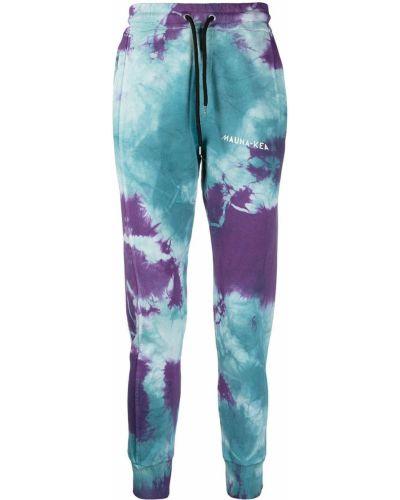 Синие брюки с карманами с манжетами Mauna Kea