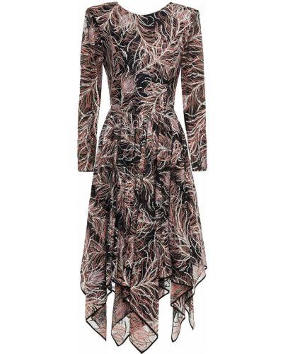 Шифоновое платье - черное Etro