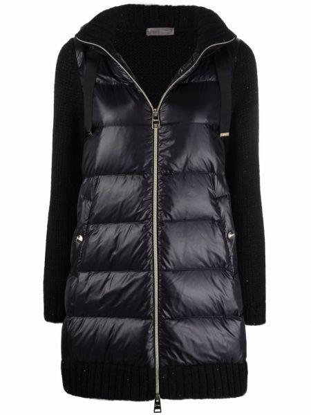 Черная куртка с карманами Herno