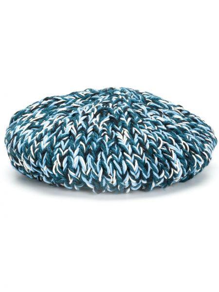 Niebieski beret bawełniany Nicholas Daley