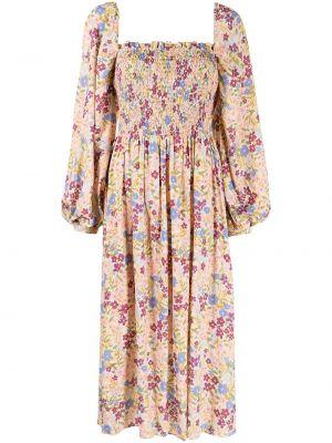 Розовое платье с вырезом We Are Kindred