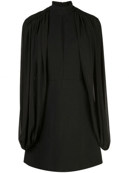 Czarna sukienka mini Giamba