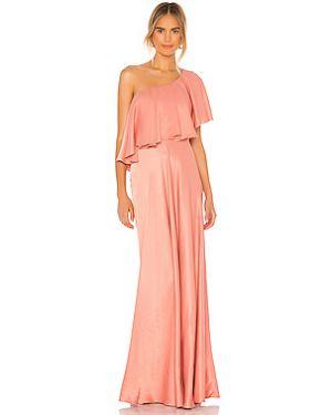 Вечернее платье на одно плечо через плечо Iorane