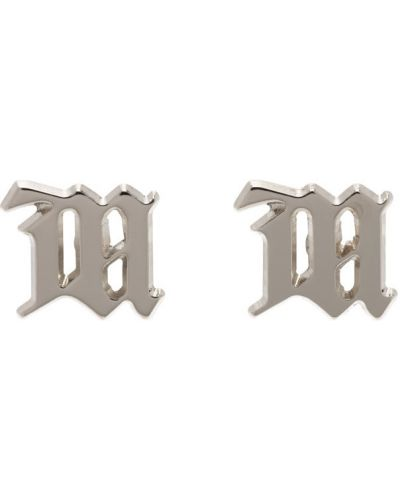 Серебряные серьги-гвоздики Misbhv