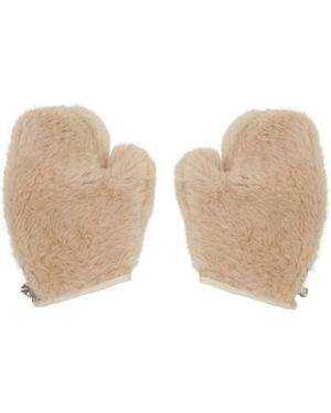 Rękawiczki z mankietami rękawice z jednym palcem Bode