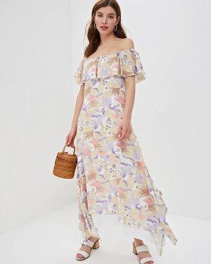 Летнее платье бежевое Dizzyway