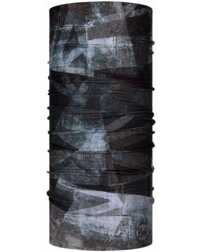 Czarny komin materiałowy Buff