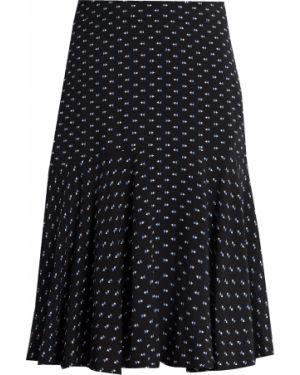 Черная юбка из вискозы Finn Flare