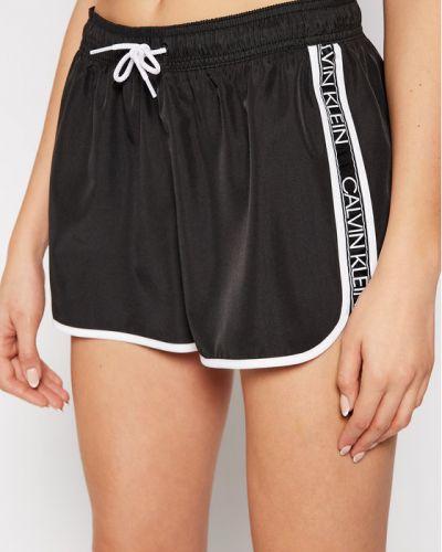 Spodenki sportowe - czarne Calvin Klein Swimwear