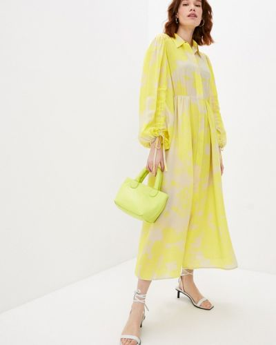 Желтое платье-рубашка Beatrice.b