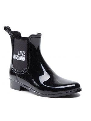 Czarne kozaki zimowe Love Moschino
