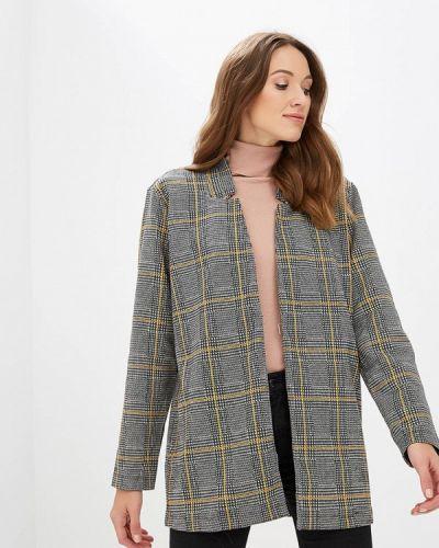 Серый пиджак осенний Tom Tailor Denim