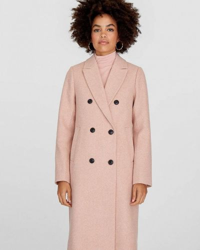Пальто розовое пальто Stradivarius