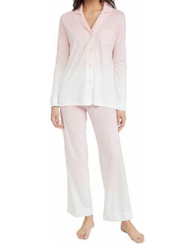 Трикотажная пижама с длинными рукавами с карманами Cosabella