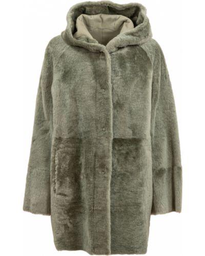 Zielony płaszcz Drome