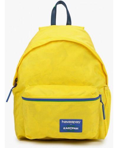 Желтый городской рюкзак Eastpak